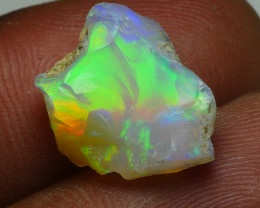 5.340CRT WELO OPAL ROUGH MULTICOLOR ETHIOPIAN OPAL