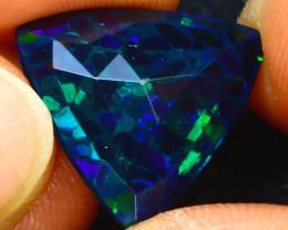 Welo Opal 4.04Ct Natural Ethiopian Smoked Welo Opal H0205/A28