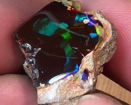 42.30 cts Ethiopian Mezezo PUZZLE polished dark opal N3 4/5
