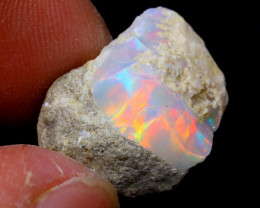 7cts Natural Ethiopian Welo Rough Opal / WR6059