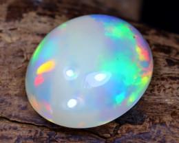 Welo Opal 3.41Ct Natural Ethiopian Flash Color Welo Opal D2005