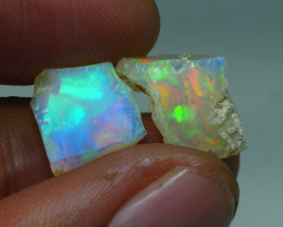 8.800CRT WELO OPAL ROUGH MULTICOLOR ETHIOPIAN OPAL