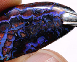 27.90cts Boulder Opal Pendant From Koroit Mines AOH-93