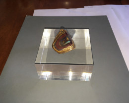 Yowah nut Specimen with stand