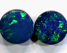 1.5 CTS    7X7   OPAL DOUBLET  CALIBRATED PAIR  LO-6363