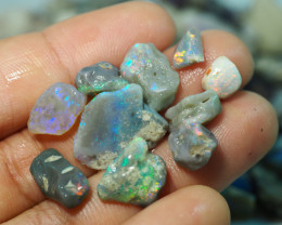 1410CT QUALITY OPAL ROUGH PARCEL FROM LIGHTNING RIDGE BJ506