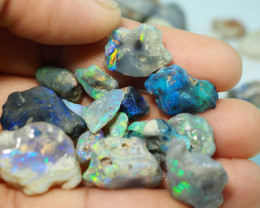 1160CT QUALITY OPAL ROUGH PARCEL FROM LIGHTNING RIDGE BJ509