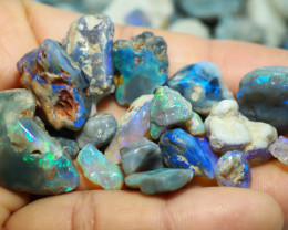 1685CT QUALITY OPAL ROUGH PARCEL FROM LIGHTNING RIDGE BJ510