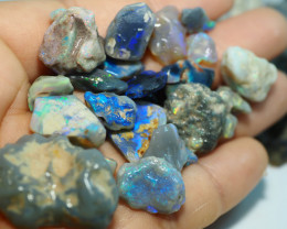 1740CT QUALITY OPAL ROUGH PARCEL FROM LIGHTNING RIDGE BJ512
