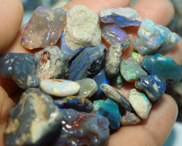 1545CT QUALITY OPAL ROUGH PARCEL FROM LIGHTNING RIDGE BJ514