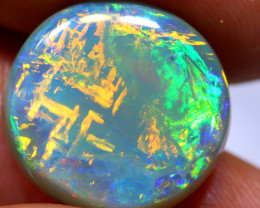 8.37 CTS CHINESE WRITING CRYSTAL OPAL POLISHED STONE  INV-2118