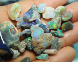 1545CT QUALITY OPAL ROUGH PARCEL FROM LIGHTNING RIDGE BJ516