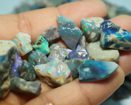 1330CT QUALITY OPAL ROUGH PARCEL FROM LIGHTNING RIDGE BJ517