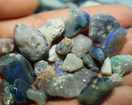 1350CT QUALITY OPAL ROUGH PARCEL FROM LIGHTNING RIDGE BJ519
