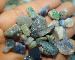 1170CT QUALITY OPAL ROUGH PARCEL FROM LIGHTNING RIDGE BJ521