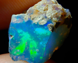 4.3ct A6 Cutting Rough Quality Solid Welo Opal