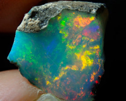 3.16ct A6 Cutting Rough Quality Solid Welo Opal