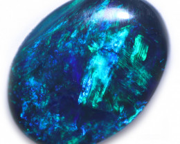 1.18 CTS BLACK OPAL STONE-FROM LIGHTNING RIDGE - [SEDA7809]