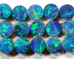 3.39 CTS    4MM  OPAL DOUBLET  CALIBRATED PARCEL  LO-6417