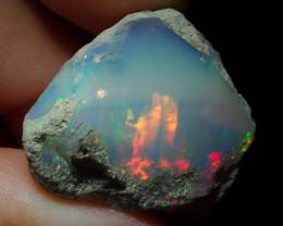 25.35ct A4 Gamble Quality Rough Ethiopian Wello Opal