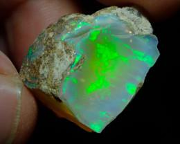 38.4ct A1 Gamble Quality Rough Ethiopian Wello Opal