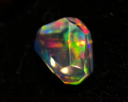 1.6ct Faceted Mexican Crystal Opal (OM)