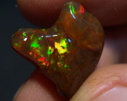 GEM Quality 9.870ct Mexican Crystal Opal (OM)