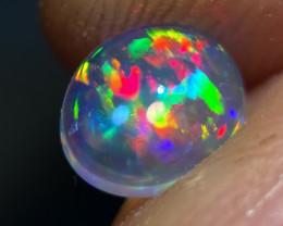 GEM Quality 0.8ct Mexican Crystal Opal (OM)