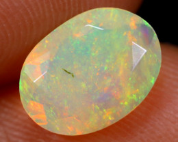 1.10cts Natural Ethiopian Faceted Welo Opal /BF5323