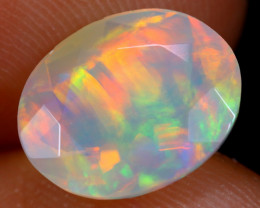 2.20cts Natural Ethiopian Faceted Welo Opal /BF5334