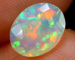 0.82cts Natural Ethiopian Faceted Welo Opal /BF5336