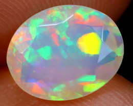 1.48cts Natural Ethiopian Faceted Welo Opal /BF5340