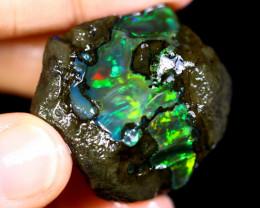 84cts Ethiopian Crystal Rough Specimen Rough / CR3011