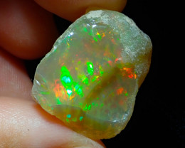 21.42ct A1 Cutting Rough Quality Solid Welo Opal