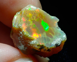 13.14ct A3 Cutting Rough Quality Solid Welo Opal