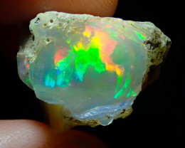28.85ct A9 Cutting Rough Quality Solid Welo Opal Specimen