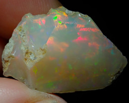 20.7ct A7 Cutting Rough Quality Solid Welo Opal