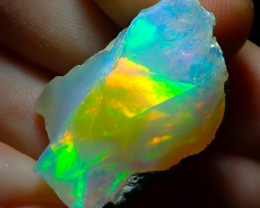 31.44ct A3 Cutting Rough Quality Solid Welo Opal