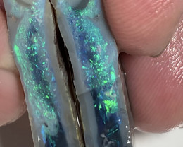 Gem Grade Bright Big Thick Semi Black Seam Split#030