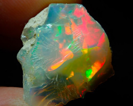 8.83ct A3 Cutting Rough Quality Solid Welo Opal