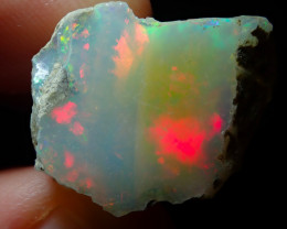 20.7ct A5 Cutting Rough Quality Solid Welo Opal