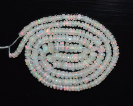 30.35 Ct Natural Ethiopian Welo Opal Beads Play Of Color OB178