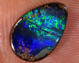 4.2ct 12x8mm Queensland Boulder Opal  [LOB-3791]