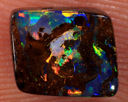 1.45ct 7x6mm Queensland Boulder Matrix Opal  [LOB-3794]