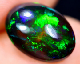 3.11cts Natural Ethiopian Welo Smoked Opal / HM1853