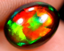 1.25cts Natural Ethiopian Welo Smoked Opal / HM1856
