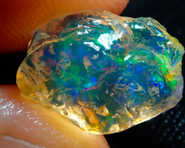 4.65ct Fire Opals With Play Of Color