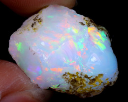 14cts Natural Ethiopian Welo Rough Opal / WR6227
