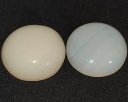 39.80 cts opala lapidada forma oval