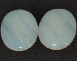 54.15 cts opala lapidada forma oval